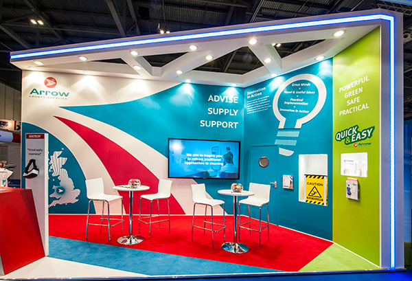 Exhibition Stand Replacement Graphics : Standout graphics large format print company