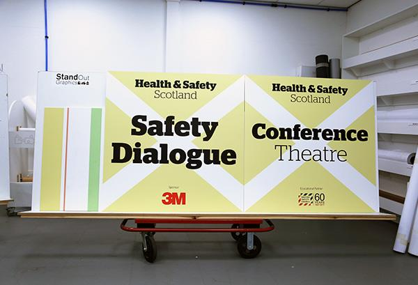Exhibition Stand Health And Safety : Services stand out graphics