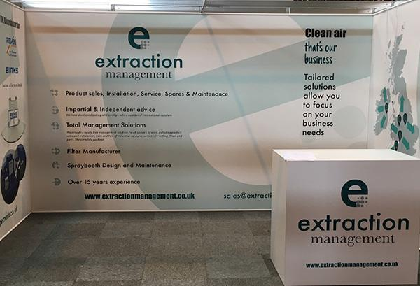 Exhibition Shell Scheme Manufacturers : Shell scheme exhibition stand with foamex panels stand out graphics