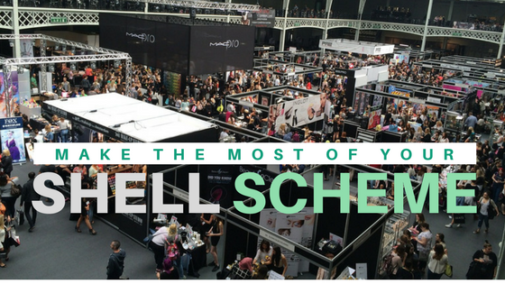 Exhibition Shell Scheme : How to get the most out of your shell scheme stand out graphics